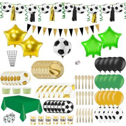 thema box voetbal versiering decoratie