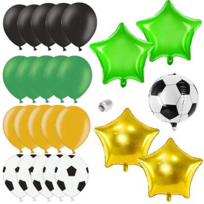 Ballonnen voor voetbalthema