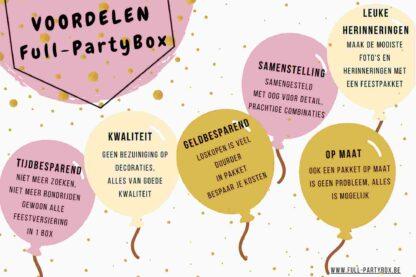 Voordelen op een rij van Full-PartyBox