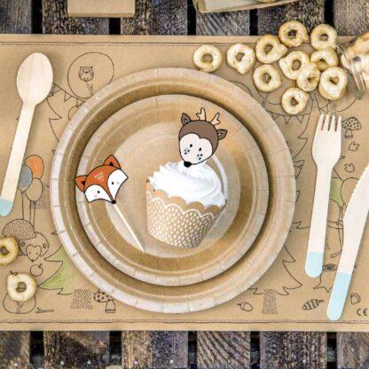 cupcake kit woodland