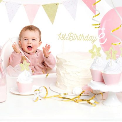 1ste verjaardag voor meisje feestversiering