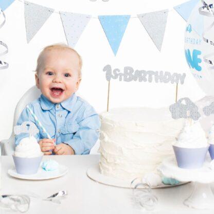 1ste verjaardag voor jongen feestversiering