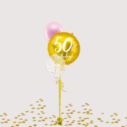 Ballonnentros mijlpaal verjaardag