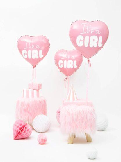 folieballon it's a girl
