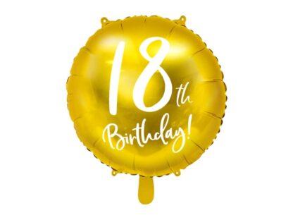 Folieballon 18de verjaardag