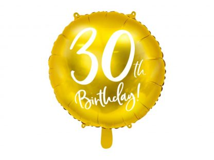 Folieballon 30ste verjaardag