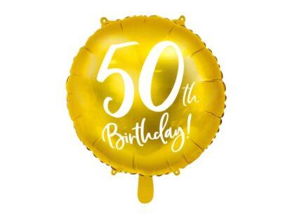 Folieballon 50ste verjaardag