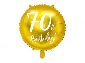 Folieballon 70ste verjaardag