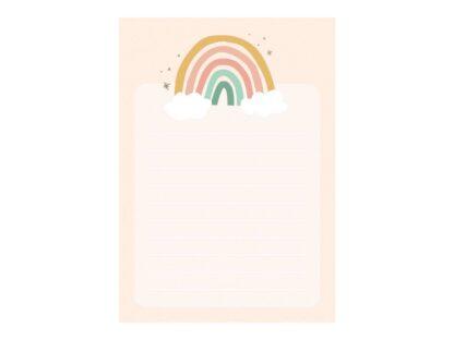 notitieboekje regenboog
