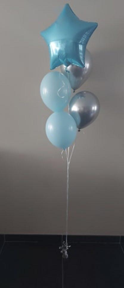 ballonnentros blauwe ster