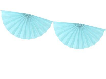 Blauwe tissue slinger