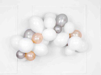Glossy zilveren ballon