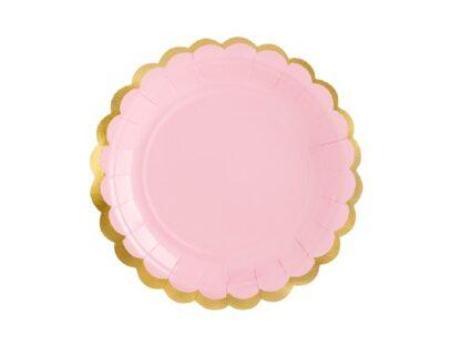 pastel roze kartonnen bord