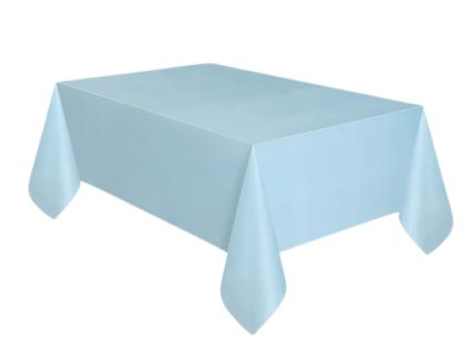 blauw tafelkleed