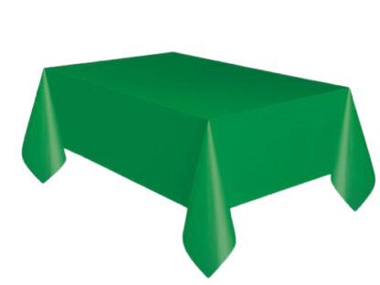 groen tafelkleed