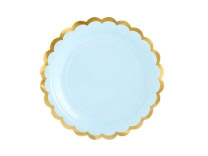 pastel blauw kartonnen bord