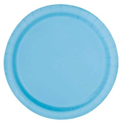 blauw kartonnen bord