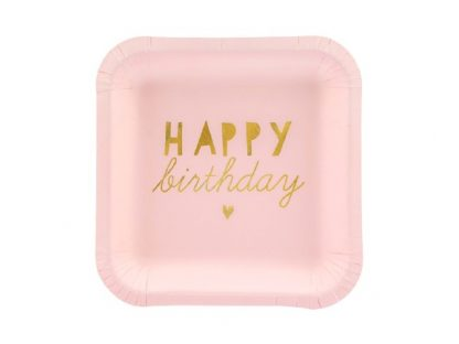 Happy Birthday kartonnen bord